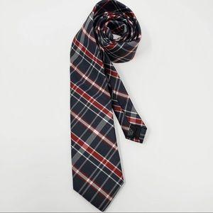 J. Ferrar Plaid Tie